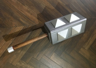 Clash Royale Commercial Hero Prop 6 Mace