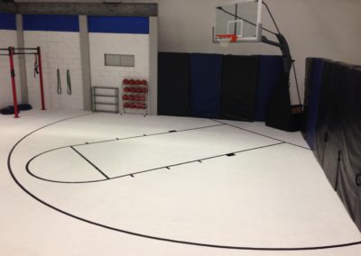 ESPN Basketball Court on Infinity Stage