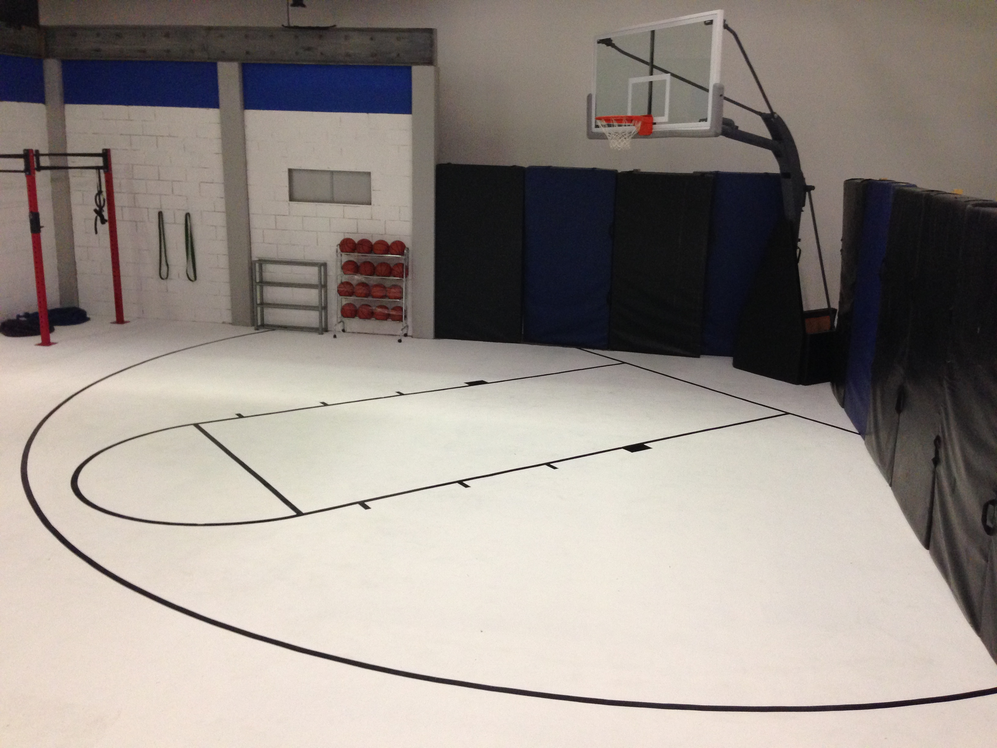 Props martinez props and special fx for Average basketball court size