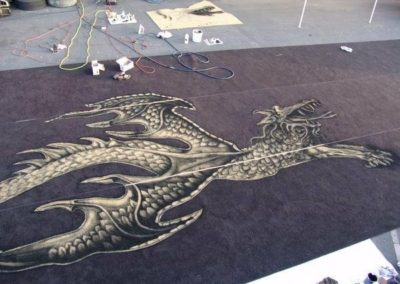 Tom Petty Stage Carpet Dragon