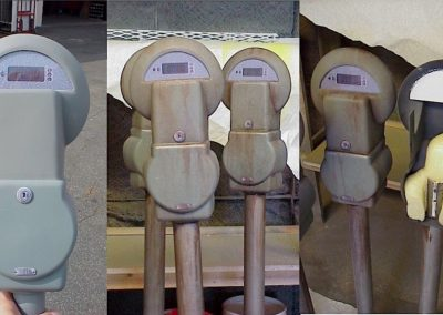 Vacuform Parking Meters
